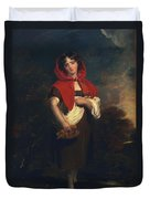 Emily Anderson Little Red Riding Hood Duvet Cover