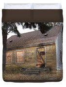 Eminem's Childhood Home Taken On November 11 2013 Duvet Cover