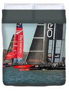 Emirates And Oracle Duvet Cover