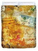 Emirati Poster Duvet Cover