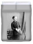 Emma Wedgwood Darwin (1808-1896) Duvet Cover