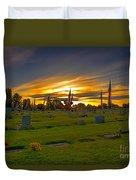 Emmett Cemetery Duvet Cover