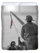 Emmitsburg 9 - 11 Memorial Duvet Cover
