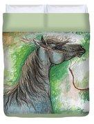 Emon Polish Arabian Horse 1 Duvet Cover