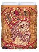 Emperor Constantine I Duvet Cover