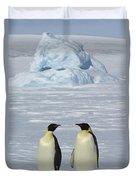 Emperor Penguins Duvet Cover