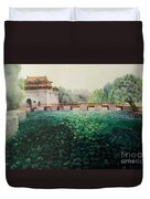 Emperor's Summer Palace Duvet Cover