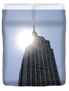 Empire State At Hign Noon Duvet Cover