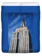 Empire State Building - Nyc Duvet Cover