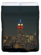 Empire State Building 911 Tribute Duvet Cover