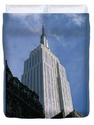 Empire State Building Duvet Cover
