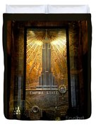 Empire State Building - Magnificent Lobby Duvet Cover