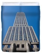 Empire State Building Rising I Duvet Cover
