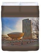 Empire State Plaza Duvet Cover