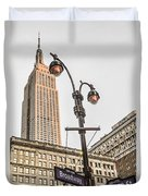 Empire State Sunset Duvet Cover