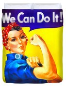 Empowerment Duvet Cover by Dan Sproul