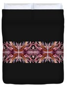 Empress Abstract Triptych Duvet Cover