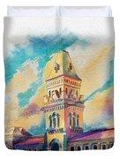 Empress Market Karachi Duvet Cover by Catf
