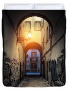 Empty Alley Duvet Cover