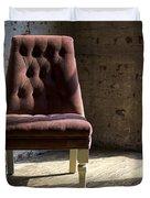 Empty Chair Duvet Cover