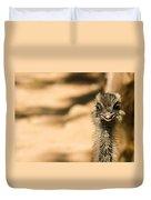Emu Portrait Duvet Cover