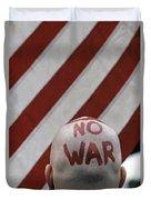 War Protest Duvet Cover