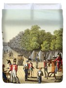 Encampment Of The British Army Duvet Cover