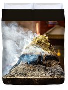 Encens Burning Duvet Cover