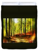 Enchanted Forest - Drawing  Duvet Cover