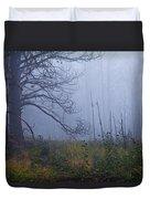 Enchanted Mist - Casper Mountain - Casper Wyoming Duvet Cover