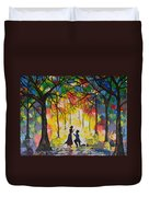 Enchanted Proposal Duvet Cover