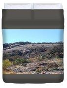 Enchanted Rock Park Duvet Cover