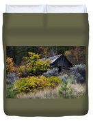 Enchanted Spaces Cabin In The Woods 2 Duvet Cover