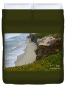 Enchanted Spaces California La Jolla Duvet Cover