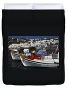 Enchanted Spaces Mykonos Greece 2 Duvet Cover