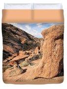 Enchanting Rocks Duvet Cover
