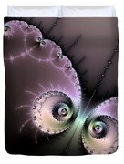 Encounter - Digital Fractal Artwork Duvet Cover