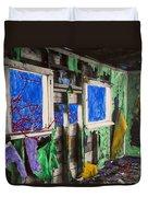 Encroachment Duvet Cover by Scott Campbell