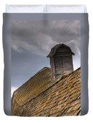 End Of An Era Roof Detail Duvet Cover
