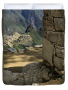 End Of Inca Trail Duvet Cover