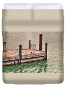 End Of Small Pier Duvet Cover