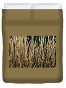 End Of Summer Grasses Duvet Cover