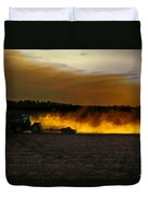 End Of The Day In The Field Duvet Cover