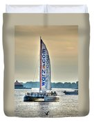 End Of The Tour Back To Shore Duvet Cover