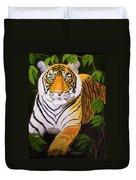 Endangered Bengal Tiger Duvet Cover