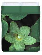 Endangered Flora Duvet Cover