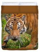 Endangered Species Sumatran Tiger Duvet Cover