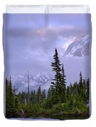 Enduring Winter Duvet Cover by Chad Dutson