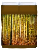 Energy Of The Forest Autumn Color Duvet Cover