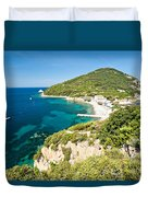 Enfola Beach - Elba Island Duvet Cover